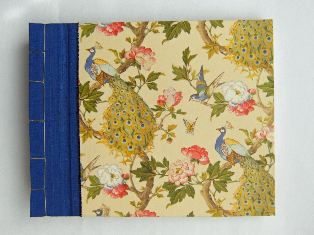 Photo Album - Beautiful Peacocks - 7.5 x 6ins Photo Album - Ready to Ship