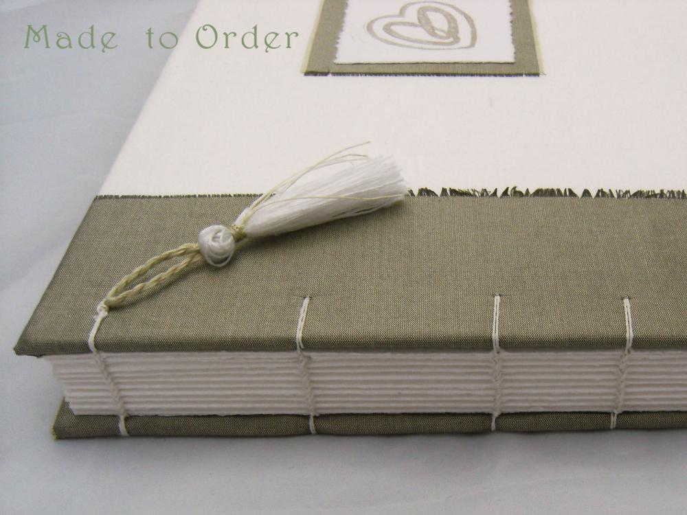 Add a Tassel to your Book - Hand made tassel embellishment